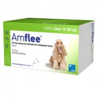 AMFLEE 134 mg Spot-on Lsg.f.mittelgr.Hunde 10-20kg, 6 ST, TAD Pharma GmbH
