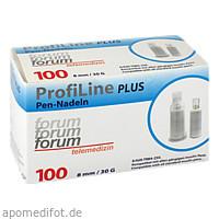 ProfiLine PLUS Pennadel 8mm, 100 ST, Forum-Telemedizin GmbH