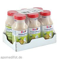 HiPP Trinknahrung Milch Apfel Birne KS, 6X200 ML, Hipp GmbH & Co.Vertrieb KG