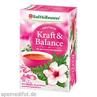 Bad Heilbrunner Wohlfühl Tee Kraft & Balance, 20X2.0 G, Bad Heilbrunner Naturheilm. GmbH & Co. KG