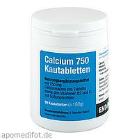 Calcium 750 Kautabletten, 90 ST, Endima Vertriebsgesellschaft mbH
