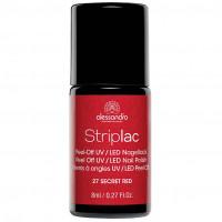alessandro STRIPLAC 127 Secret Red, 8 Milliliter, alessandro International GmbH