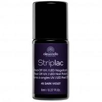 alessandro STRIPLAC 145 Dark Violet, 8 ML, alessandro International GmbH