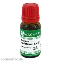Natrium muriaticum LM 2, 10 ML, ARCANA Dr. Sewerin GmbH & Co. KG