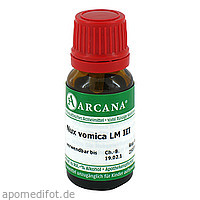 Nux vomica LM 3, 10 ML, ARCANA Dr. Sewerin GmbH & Co. KG
