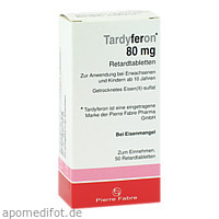 Tardyferon Retardtabletten, 50 ST, kohlpharma GmbH