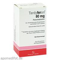 Tardyferon Retardtabletten, 100 ST, kohlpharma GmbH