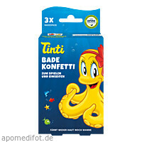 Tinti Badekonfetti 3er Pack DS, 3X6 G, Wepa Apothekenbedarf GmbH & Co. KG