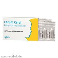 Carum Carvi Baby-Kümmelzäpfchen, 10 ST, Pädia GmbH