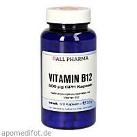 VITAMIN B12 500 ug GPH Kapseln, 120 ST, Hecht-Pharma GmbH