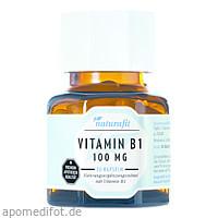 Naturafit Vitamin B1 100mg, 30 ST, Naturafit GmbH