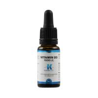 Vitamin D-3 1000 i.E. pro Tropfen, 15 ML, Supplementa Corporation B.V.