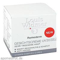 Widmer Remederm Gesichtscreme UV 20 unparf., 50 ML, Louis Widmer GmbH