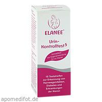 ELANEE Urin-Kontrolltest 5, 10 ST, Büttner-Frank GmbH