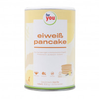 for you eiweiß pancakes Vanille, 600 G, For You eHealth GmbH