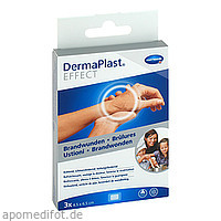 DermaPlast EFFECT Brandwunden 4.5x6.5cm, 3 ST, Paul Hartmann AG