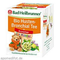 Bad Heilbrunner Bio Kinder Husten-Bronchial Tee, 8X1.5 G, Bad Heilbrunner Naturheilm. GmbH & Co. KG