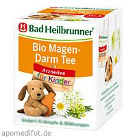 Bad Heilbrunner Bio Kinder Magen-Darm Tee, 8X1.8 G, Bad Heilbrunner Naturheilm. GmbH & Co. KG