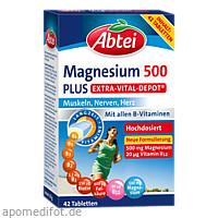 Abtei Magnesium 500 Plus Extra-Vital-Depot, 42 ST, Omega Pharma Deutschland GmbH