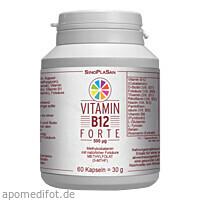 Vitamin B12 FORTE 500 ug Methylcobalamin, 60 ST, Sinoplasan AG