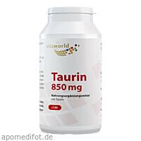 Taurin 850 mg, 130 ST, Vita World GmbH