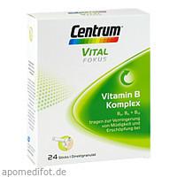 Centrum Fokus Vital Vitamin B-Komplex, 24 ST, GlaxoSmithKline Consumer Healthcare