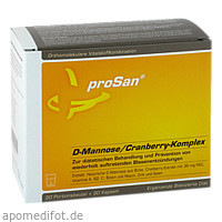 proSan D-Mannose/Cranberry-Komplex, 2X30 ST, Prosan Pharmazeutische Vertriebs GmbH