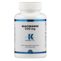 Niacinamid (B3) 500 mg, 100 ST, Supplementa Corporation B.V.