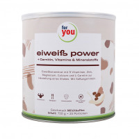 For you Eiweiß Power Milchkaffee, 750 G, For You eHealth GmbH