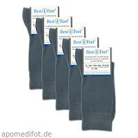 SILBERSOCKEN Granit 38-40, 5X2 ST, Bestsilver GmbH & Co. KG