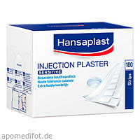 Hansaplast SENSITIVE Injektionspflaster 4.0x1.9cm, 100 ST, Beiersdorf AG
