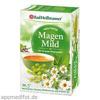 Bad Heilbrunner Wohlfühl Tee Magen Mild, 20X2.0 G, Bad Heilbrunner Naturheilm. GmbH & Co. KG