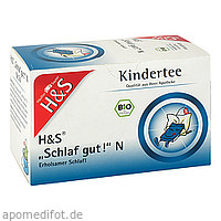 H&S Bio Kindertee Schlaf gut N, 20X1.0 G, H&S Tee - Gesellschaft mbH & Co.