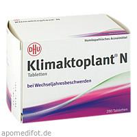 Klimaktoplant N, 280 ST, Dhu-Arzneimittel GmbH & Co. KG
