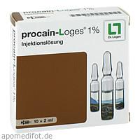 procain-Loges 1% Injektionslösung, 10X2 ML, Dr. Loges + Co. GmbH