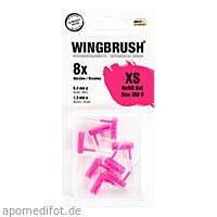 WINGBRUSH Refill Set ISO 0 (small), 8 ST, Imp GmbH International Medical Products