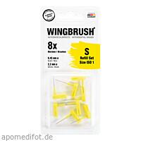 WINGBRUSH Refill Set ISO 2 (medium), 8 ST, Imp GmbH International Medical Products