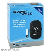 GlucoMen areo 2K meter set (mmol/L), 1 ST, Berlin-Chemie AG