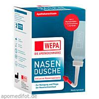 WEPA Nasendusche mit 10x2.95g Nasenspülsalz, 1 P, Wepa Apothekenbedarf GmbH & Co. KG