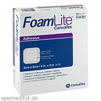 Foam Lite ConvaTec adhäsiv 5x5cm, 10 ST, Convatec (Germany) GmbH