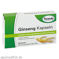 Ginseng Kapseln, 60 ST, Astrid Twardy GmbH