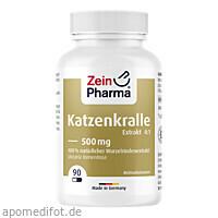 Katzenkralle Kapseln Cat's Claw, 90 ST, Zein Pharma - Germany GmbH