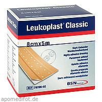Leukoplast Classic Pflaster 8 cm x 5 m Rolle, 1 ST, Bsn Medical GmbH