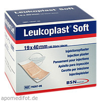 Leukoplast Soft Injekt. Strips 19 x 40 mm, 100 ST, Bsn Medical GmbH