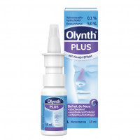 Olynth Plus 0.1% / 5% für Erw Nasenspray o.K., 10 ML, Johnson & Johnson GmbH