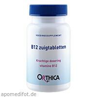 Orthica B12 Lutschtabletten, 90 ST, Supplementa Corporation B.V.