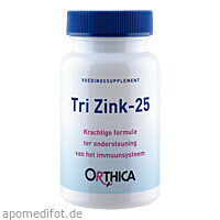 Orthica Tri Zink - 25, 60 ST, Supplementa Corporation B.V.