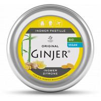 Ingwer GINJER Pastille Zitrone, 40 G, Lemon Pharma GmbH & Co. KG