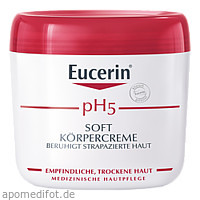 Eucerin pH5 Körpercreme Soft Empfindliche Haut, 450 ML, Beiersdorf AG Eucerin