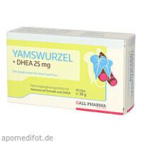 YAMSWURZEL + DHEA 25MG KPS, 60 ST, Hecht-Pharma GmbH